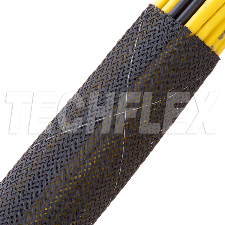 "Flexo® Tightweave 9 Mil FR - 1 1/2"" - Black"