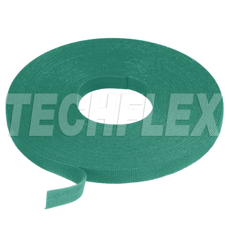 "VELCRO® Brand ONE-WRAP® Tape, 25 yd Roll, 1 1/2"", Green"