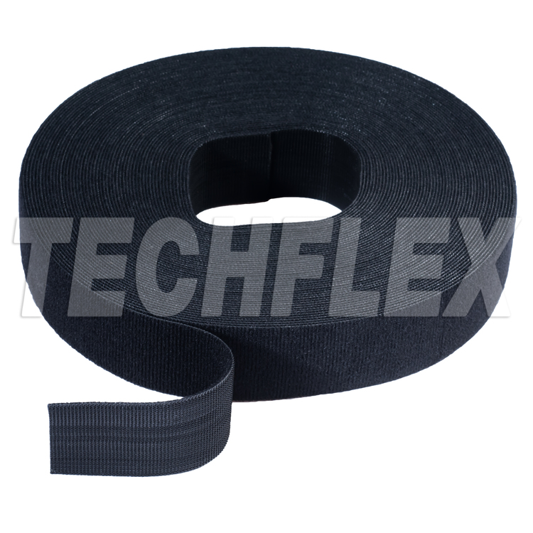 "VELCRO® Brand ONE-WRAP® Tape, 25 yd Roll, 1 1/2"", Black"