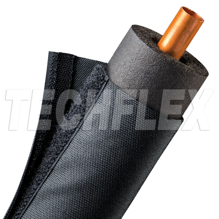 "Dura HVAC Wrap - 3"" - Black"