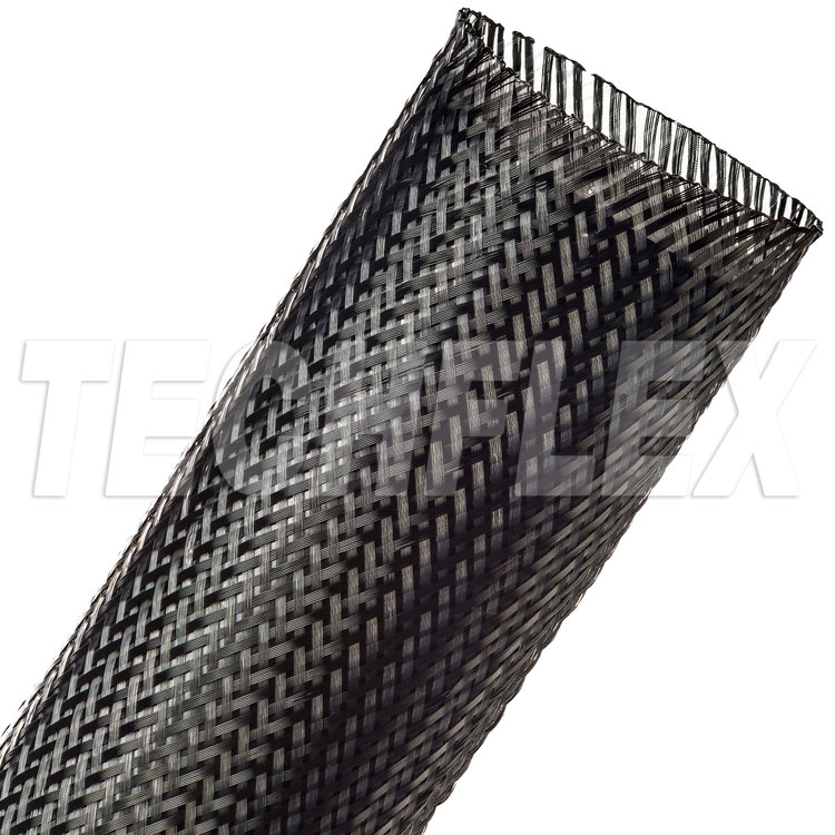 "Flexo® PET - 2-1/2"" - Carbon (Black / Clear)"