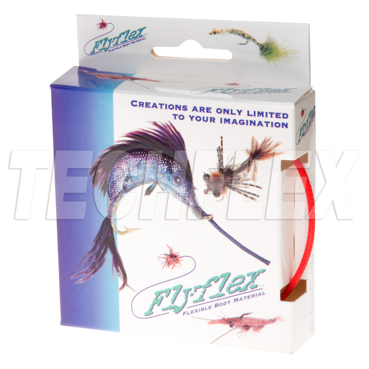 "FLYFLEX Pack, 1/8"" Red PET"
