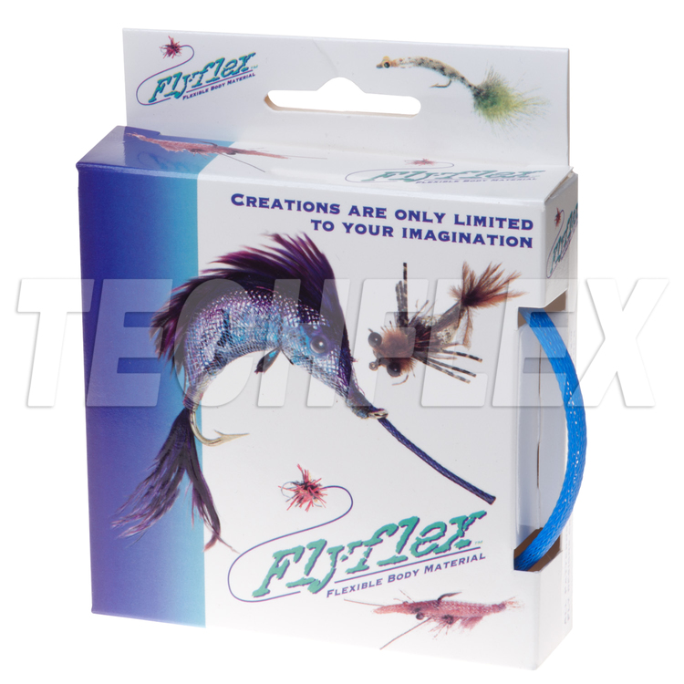 "FLYFLEX Pack, 1/4"" Neon Blue PET"