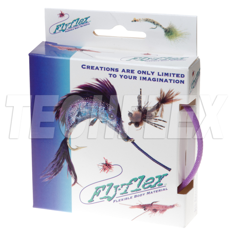 "FLYFLEX Pack, 1/4"" Purple PET"
