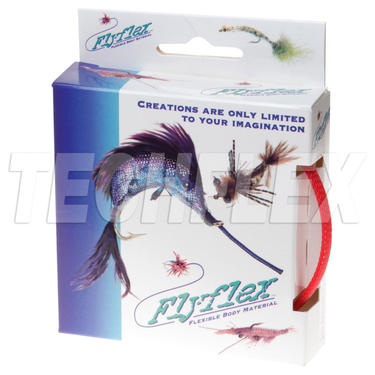 "FLYFLEX Pack, 1/4"" Red PET"