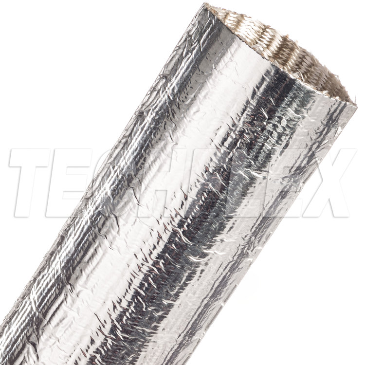 "ThermaShield® Tube - 1 3/4"", Silver, 4 ft piece"