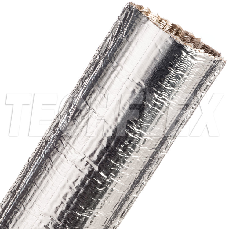 "ThermaShield® Tube - 2 1/2"", Silver"