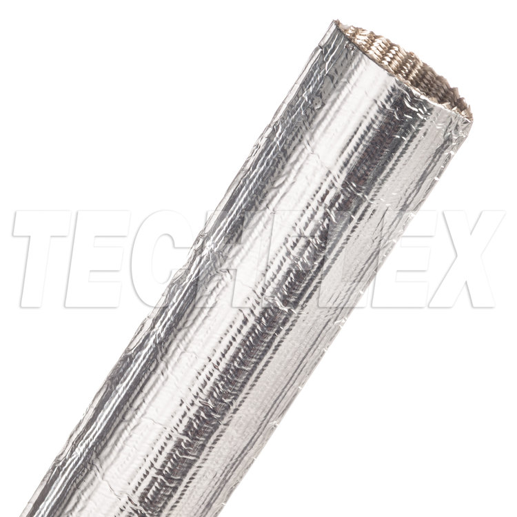 "ThermaShield® Tube - 1 1/4"", Silver, 4 ft piece"