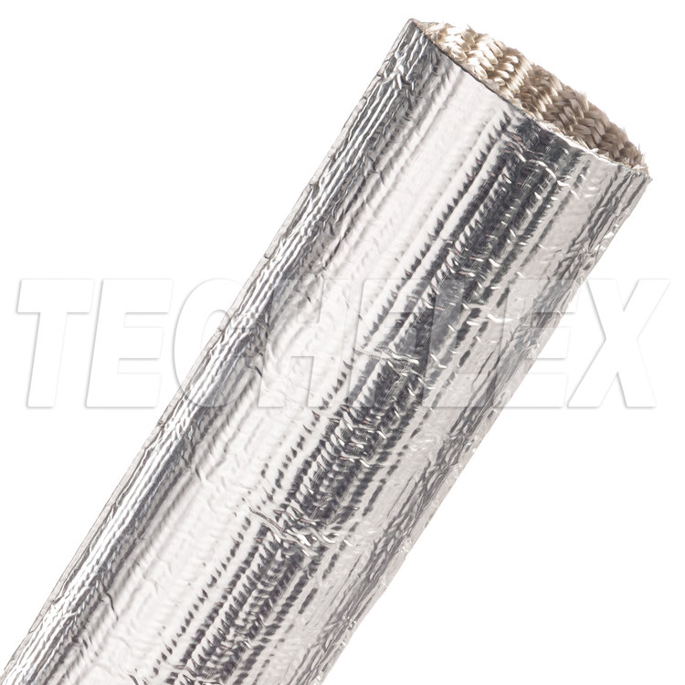 "ThermaShield® Tube - 1 1/2"", Silver, 4 ft piece"