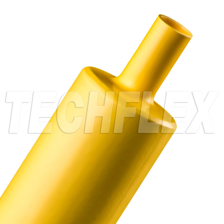 "HeatShrink tube 2"" Yellow 3:1"
