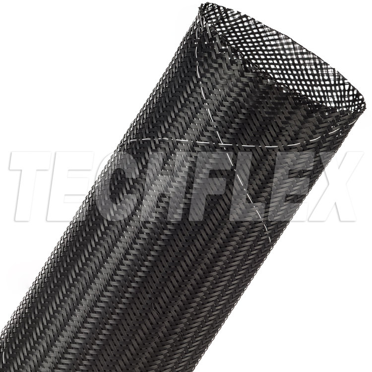 "Flexo® Tightweave 9 Mil FR - 2 1/4"" - Black"