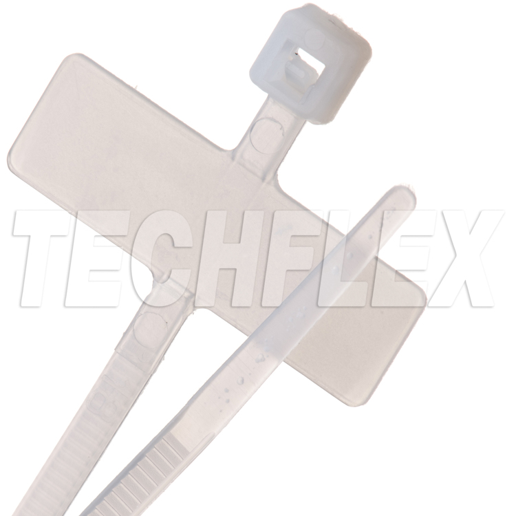 "Cable Tie - 4"" Horizontal ID - 18 lb. - Natural"