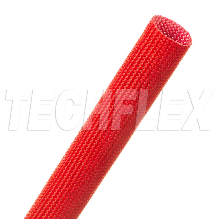 "Insultherm® Tru-Fit Fiberglass Sleeving - 5/8"", Red"