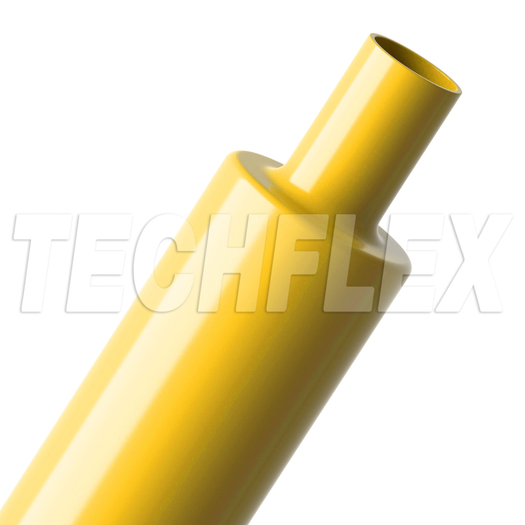 "Shrinkflex® Polyolefin Glossy Heatshrink - 1 1/2"" - Yellow"