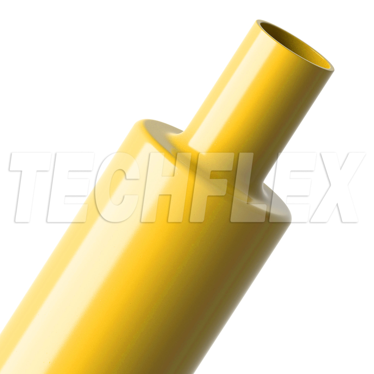 "Shrinkflex® Polyolefin Glossy Heatshrink - 2"" - Yellow"
