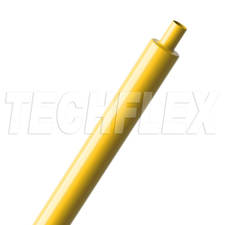 "Shrinkflex® Polyolefin Glossy Heatshrink - 3/8"" - Yellow"