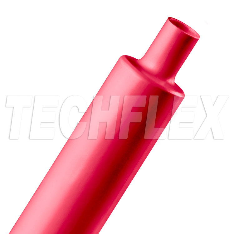 "Shrinkflex® Polyolefin Heatshrink Tubing - 2:1 - 1 1/4"" - Red"