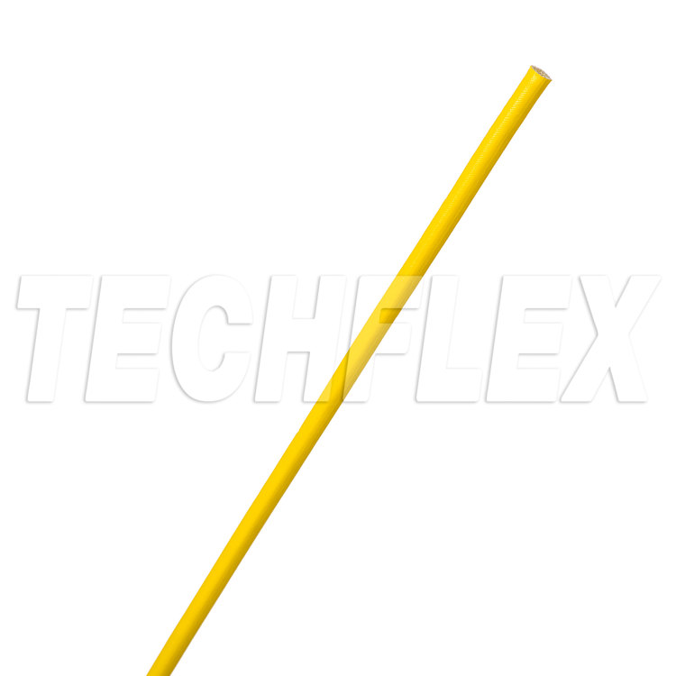 Acrylic Coated Fiberglass Grade A - 03 AWG - Yellow