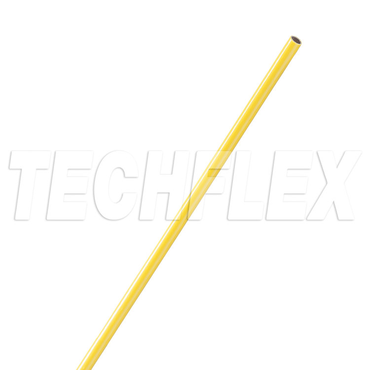 Vinyl Coated Fiberglass - Grade A - 20 AWG - Yellow